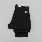 Carhartt Taylor Pant 8oz Stone Washed - Black 2
