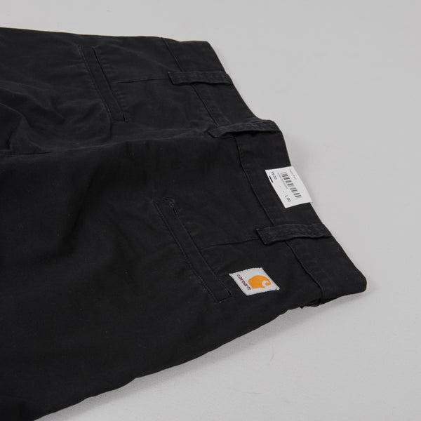 Carhartt Taylor Pant 8oz Stone Washed - Black 4