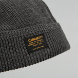 Carhartt WIP Truman Beanie - Dark Grey Heather 2