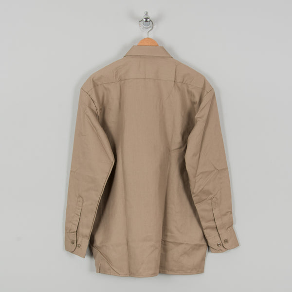 Dickies L/S Work Shirt - Khaki 3