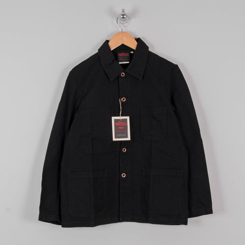 Vetra Twill Workwear Jacket - Black 1