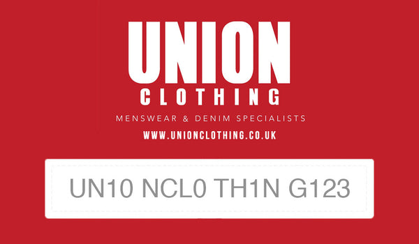 Union Clothing Gift Card