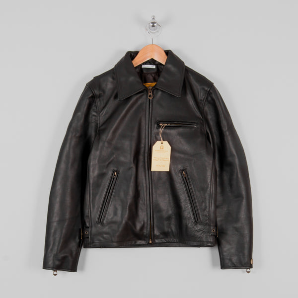 Shangri La Heritage Varenne Leather Jacket MKII - Black 1