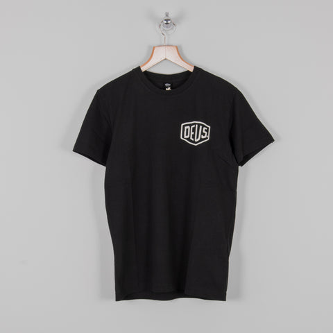 Deus ex Machina Venice Address Tee - Black 1