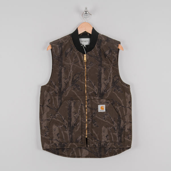 Carhartt WIP Classic Vest - Camo Tree Rinsed 1