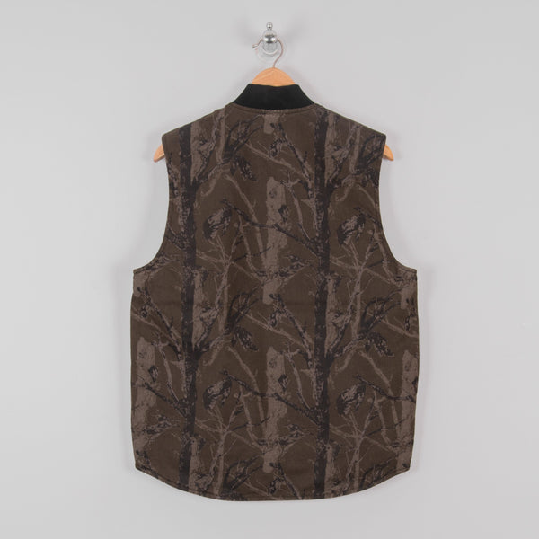 Carhartt WIP Classic Vest - Camo Tree Rinsed 3
