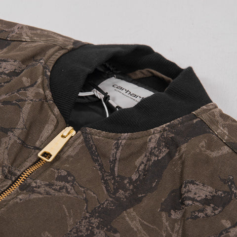 Carhartt WIP Classic Vest - Camo Tree Rinsed 2