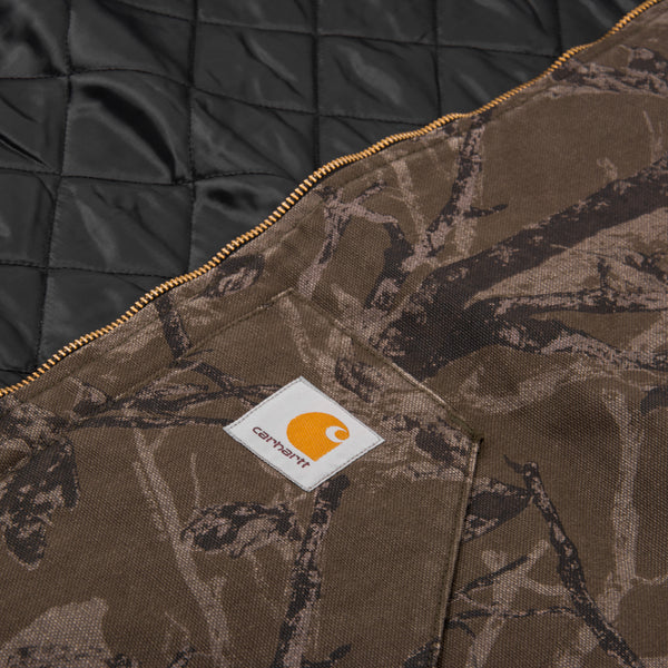 Carhartt WIP Classic Vest - Camo Tree Rinsed 4