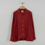 Nudie Vidar Someplace Anywhere L/S Shirt - Brick / Red 1
