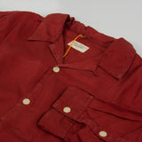 Nudie Vidar Someplace Anywhere L/S Shirt - Brick / Red 4