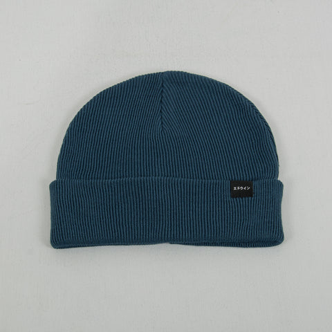 Edwin Watch Cap Beanie - Vintage Blue 1