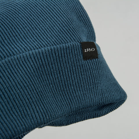Edwin Watch Cap Beanie - Vintage Blue 2
