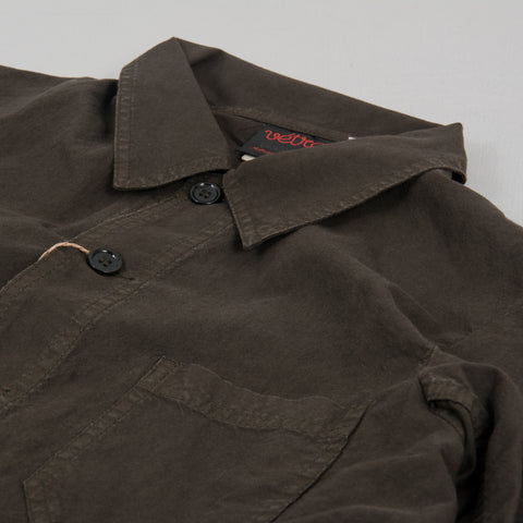 Vetra Weaved Workwear Jacket Khaki 2