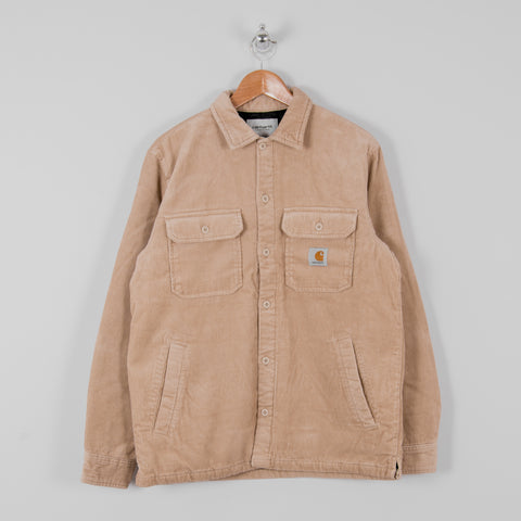 Carhartt WIP Whitsome Cord Shirt Jacket - Wall 1