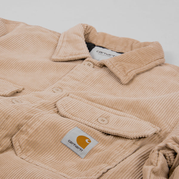 Carhartt WIP Whitsome Cord Shirt Jacket - Wall 2