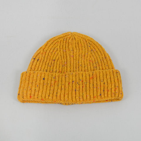 Donegal Wool Beanie - Yellow