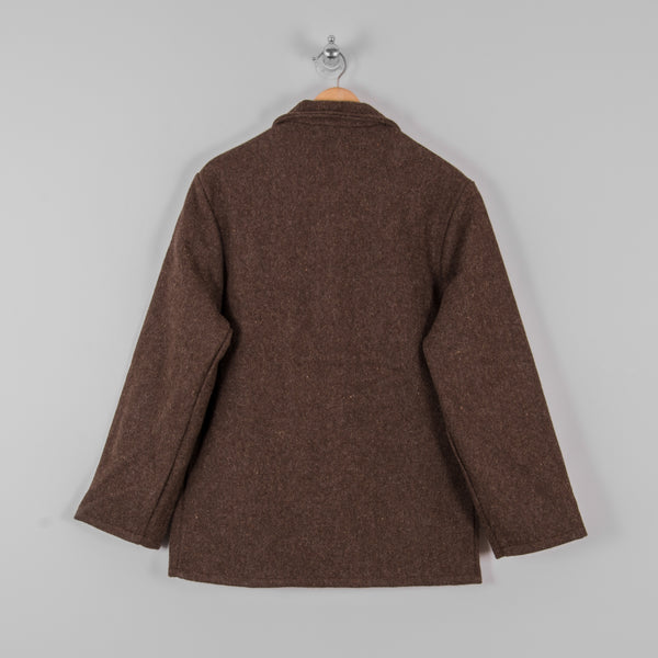 Le Laboureur Wool Work Jacket - Marron Brown 3