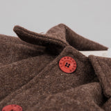 Le Laboureur Wool Work Jacket - Marron Brown 4