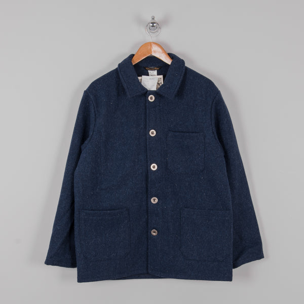 Le Laboureur Wool Work Jacket - Navy 1
