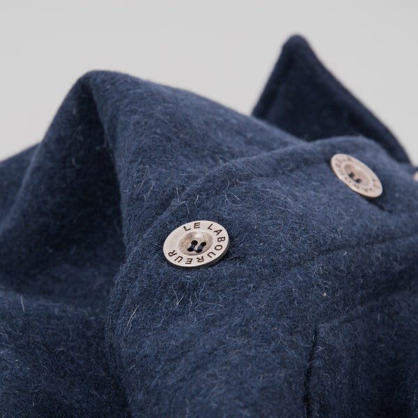 Le Laboureur Wool Work Jacket - Navy 2