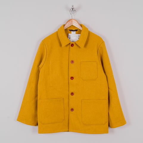 Le Laboureur Wool Work Jacket - Safron 1