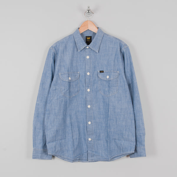 Lee Worker Shirt - Summer Blue 1