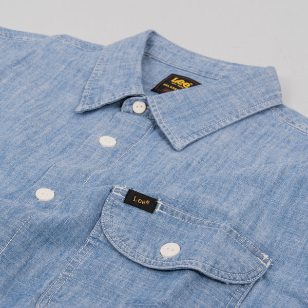 Lee Worker Shirt - Summer Blue 2