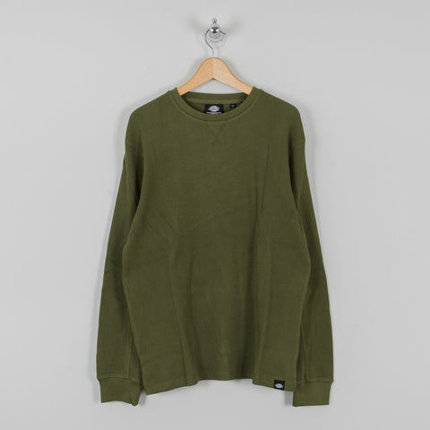 Dickies Zwolle Waffle Knit - Army Green 1