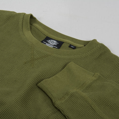 Dickies Zwolle Waffle Knit - Army Green 2