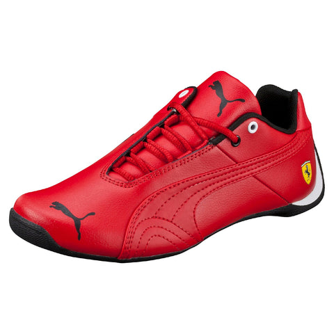 Puma Youths Future Cat V Rosso Corsa Shoes Red