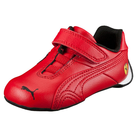 Puma Infants Future Cat V Rosso Corsa Shoes Red