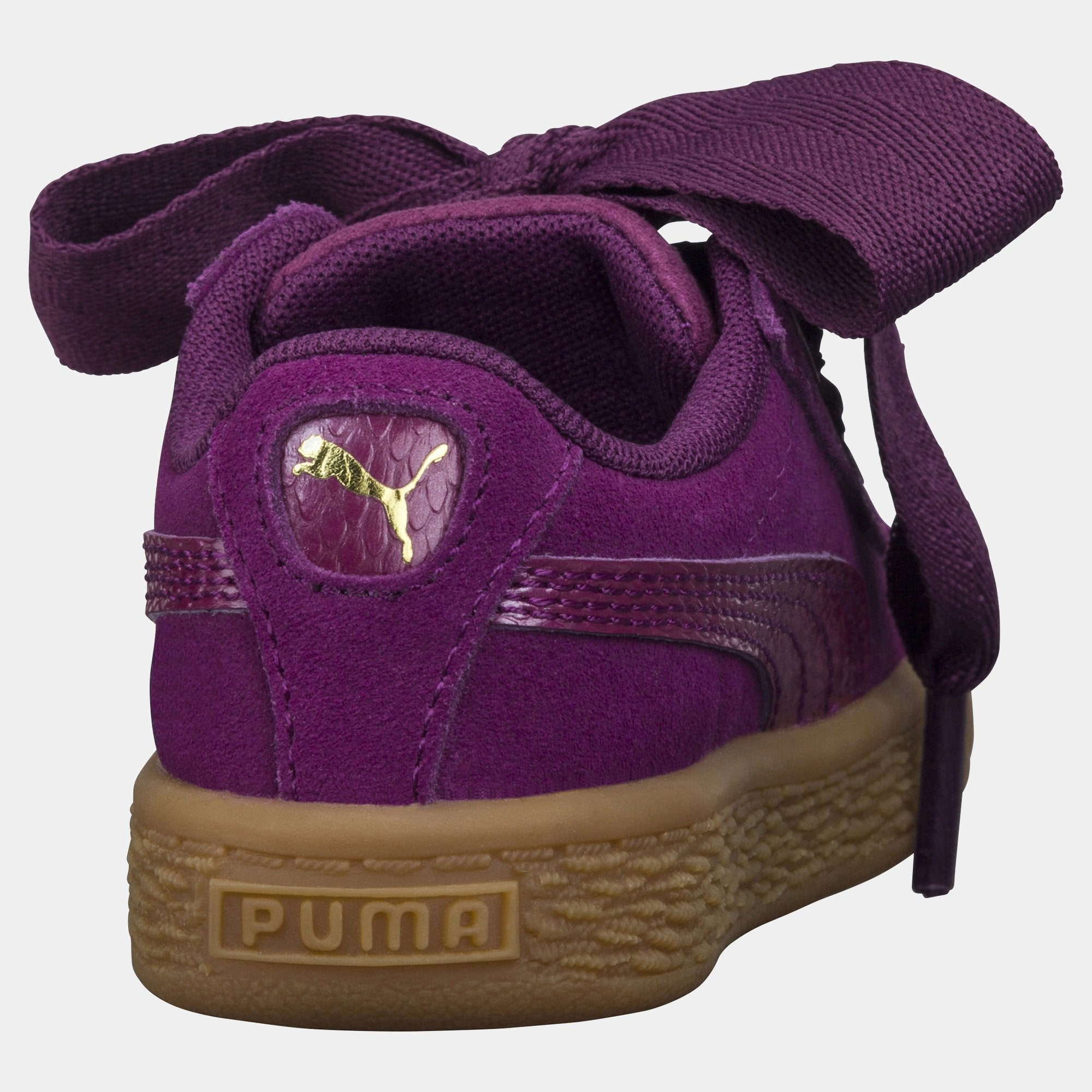 finest selection 49943 e5f8a Puma Suede Heart Purple