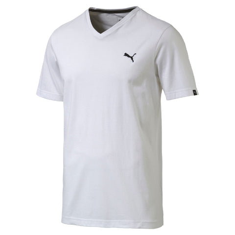 Puma Ess V Neck T-Shirt