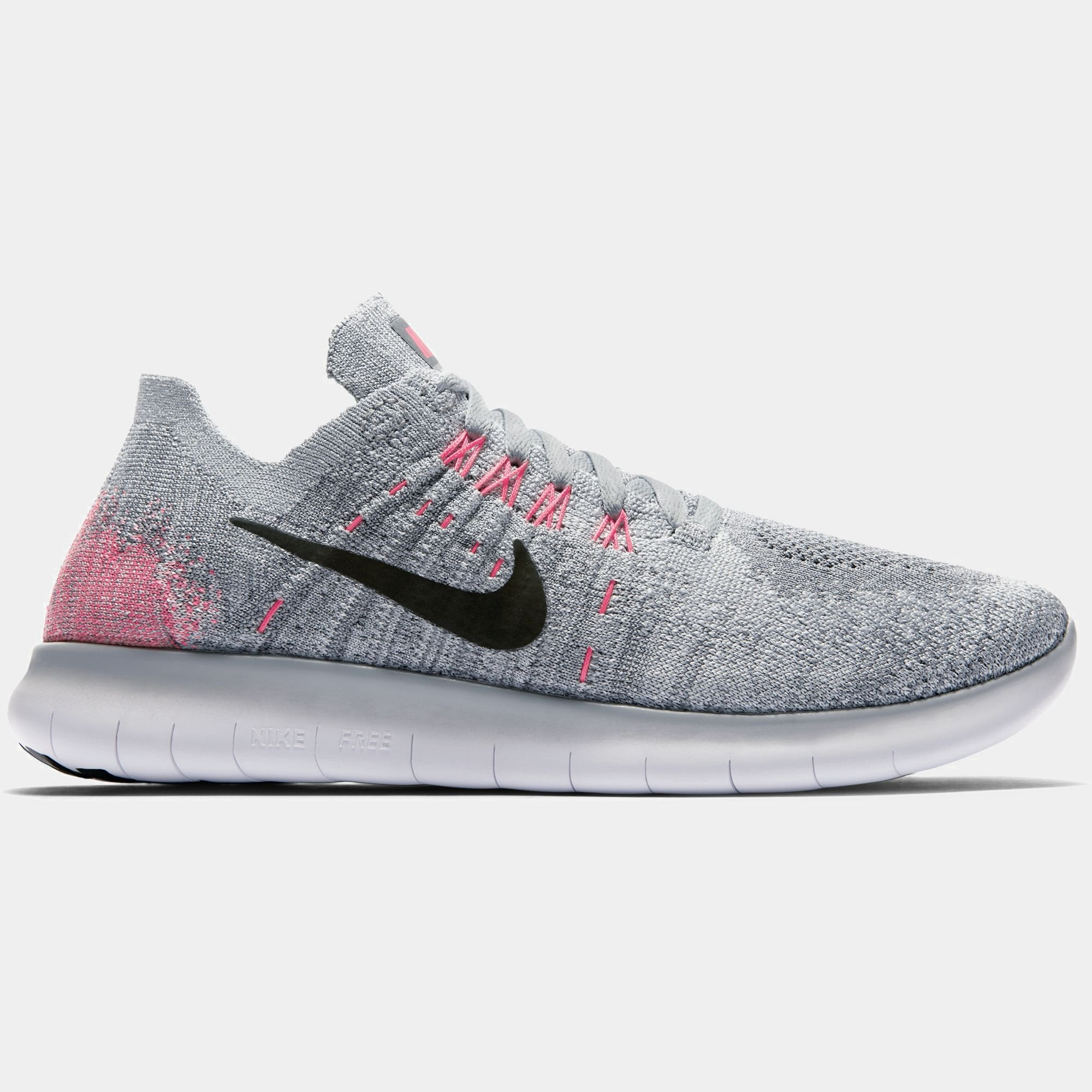 f41a96900a98e Girls' Nike Free RN Flyknit 2017 (GS) Running Shoe – Branded Feet