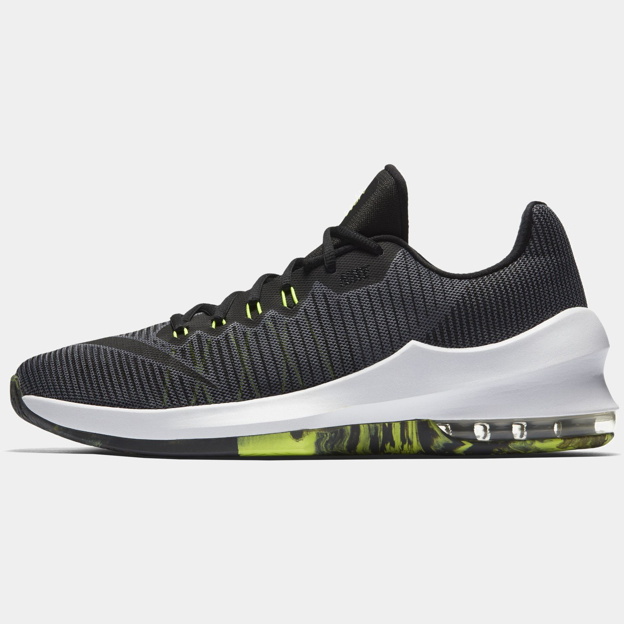 e2aec71d37 ... promo code for nike air max infuriate 2 low basketball shoe branded feet  5183d 63736