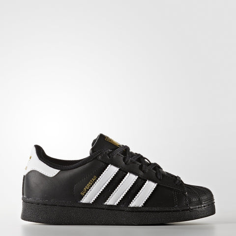 adidas Kids Superstar Foundation Sneakers Black