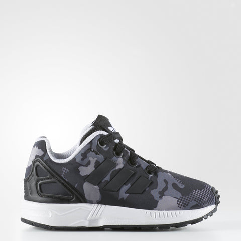 adidas Youths ZX Flux Sneakers Black