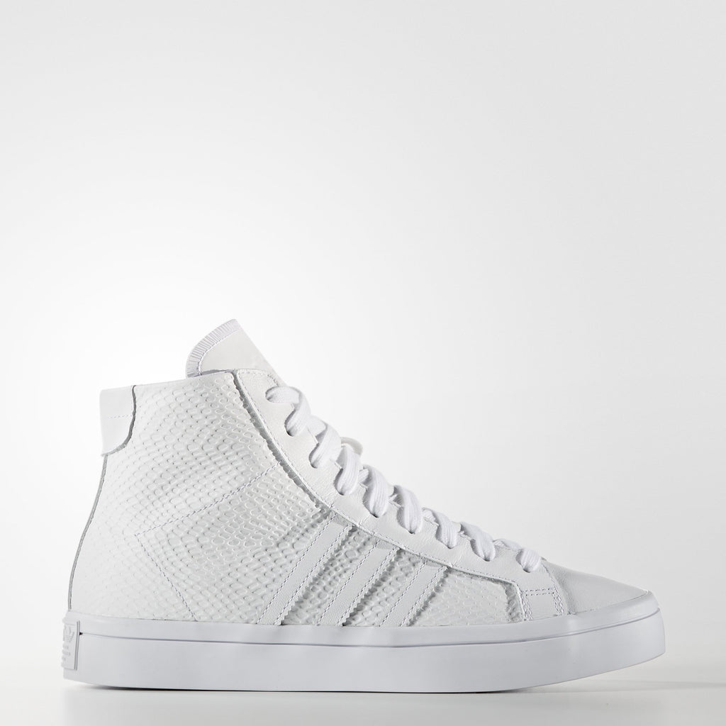 adidas Court Vantage Mid White Sneakers