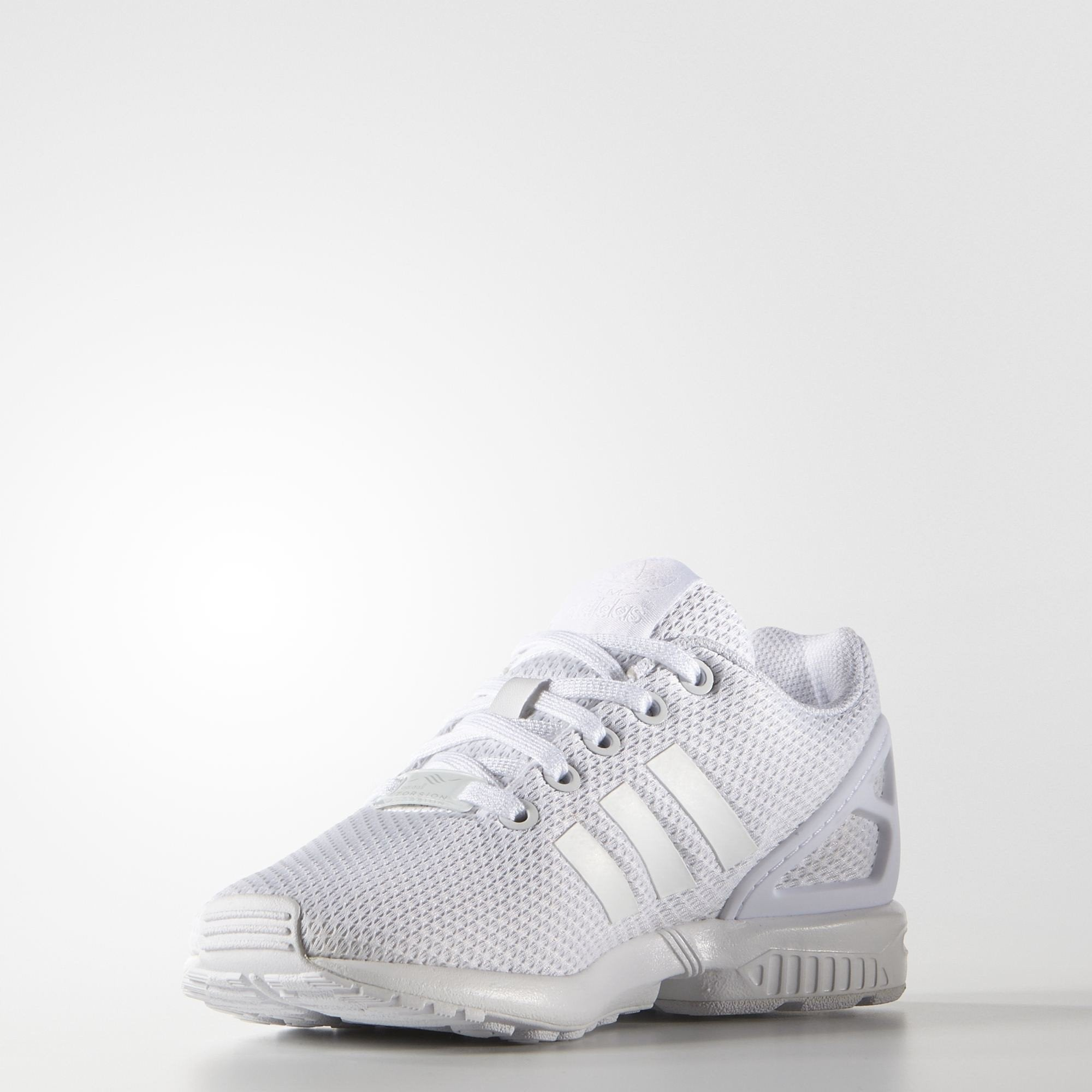 5d32b05d563 adidas ZX Flux J White Shoes – Branded Feet