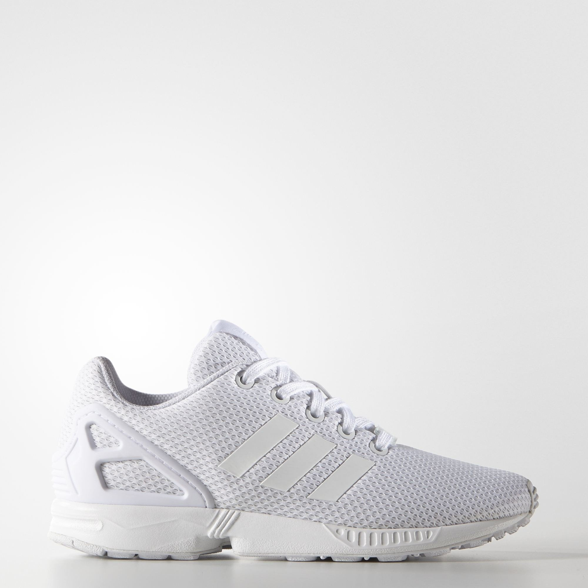 95191c0a06680 adidas ZX Flux J White Shoes – Branded Feet
