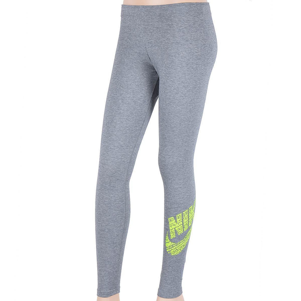 Nike Leg-A-See Logo Leggings Grey