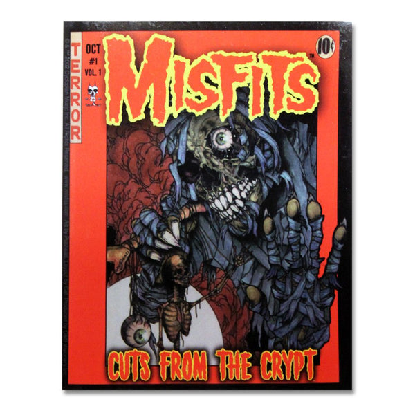 Cuts Comic Book Cover Sticker - Misfits Shop