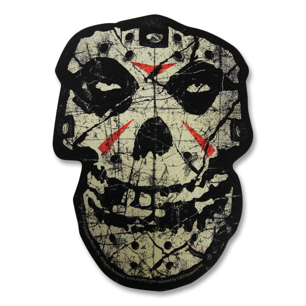 Misfits Crystal Lake Skull Sticker - Misfits Shop