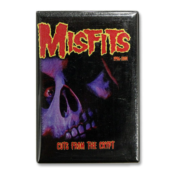 Cuts From The Crypt Skull Refrigerator Magnet - Misfits Shop