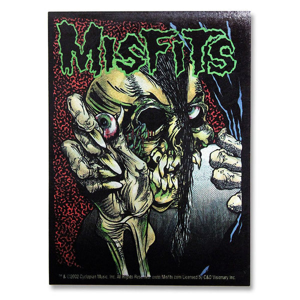 Pushead Full Color Evil Eye Sticker - Misfits Shop