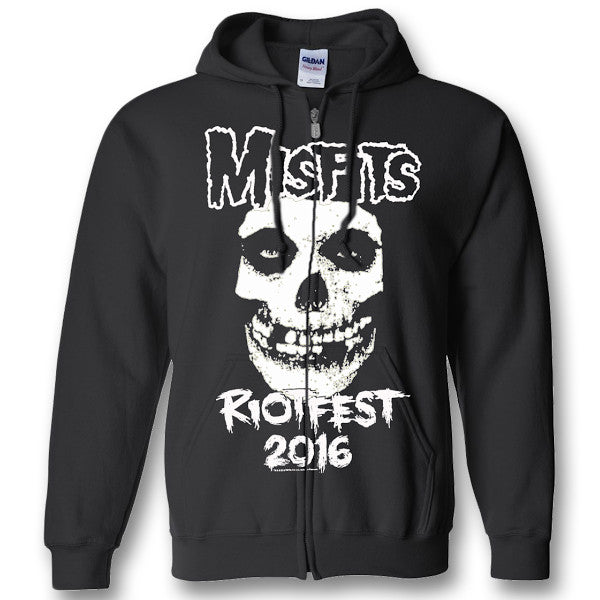 Official Original Misfits Reunion Zip Up Event Hoodie