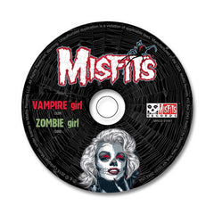 Vampire Girl / Zombie Girl CD - Misfits Shop - 3