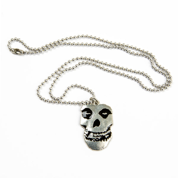 Misfits Pewter Ball Necklace