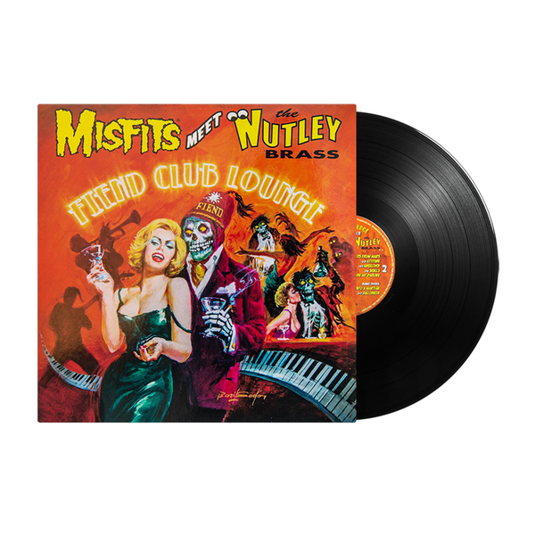 "Misfits Meet the Nutley Brass: ""Fiend Club Lounge"" (Expanded Edition) LP - BLACK VINYL"