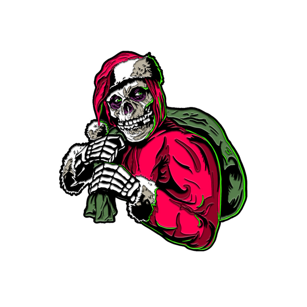 "Misfits - ""Holiday Fiend"" ENAMEL PIN"